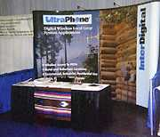 [photo of tradeshow booth]