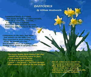 [Daffodil graphic; enlarged version will open in a separate window]